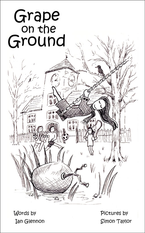 Grape on the Ground Book Illustration